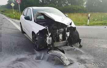 Heftiger Unfall bei Autobahn-Abfahrt Plattling-Nord - Plattling - Passauer Neue Presse