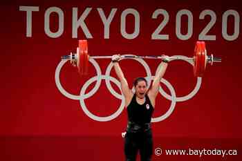 Canadian weightlifter Charron wins Canada's second gold in Tokyo