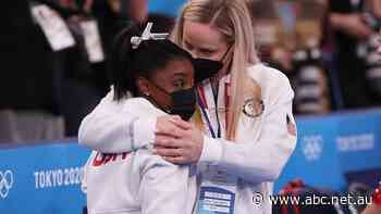 US women's gymnastics team wins silver in team final after Simone Biles's withdrawal
