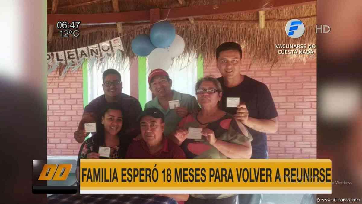 San Juan Nepomuceno: Una familia espera casi año y medio para reunirse en pandemia - ÚltimaHora.com