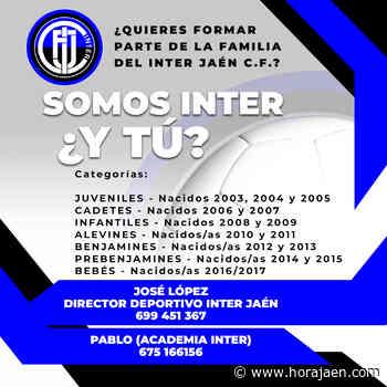 La Academia Inter de Jaén CF busca jóvenes futbolistas - HoraJaén