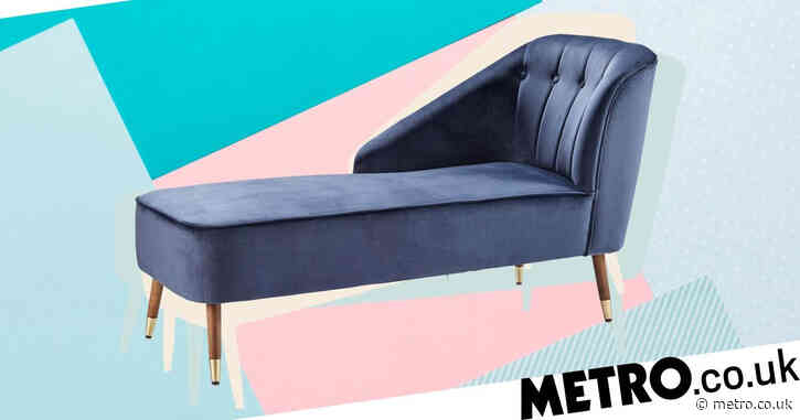 Aldi's new velvet chaise lounge could save you up to £350