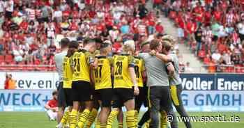 3. Liga: Borussia Dortmund II gewinnt in Unterzahl, auch 1860 München feiert erfolgreichen Auftakt - SPORT1