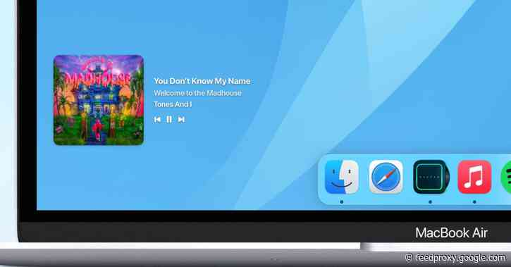 'Sleeve' brings an Apple Music or Spotify now playing widget to your Mac's desktop