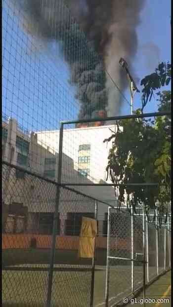Incêndio atinge shopping na Zona Norte do Rio - G1