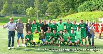 Fußball-Stadtmeisterschaften Blieskastel: Bierbach siegt im Finale - Saarbrücker Zeitung