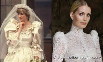 Princess Diana's wedding dress had some serious hidden links to Lady Kitty Spencer's