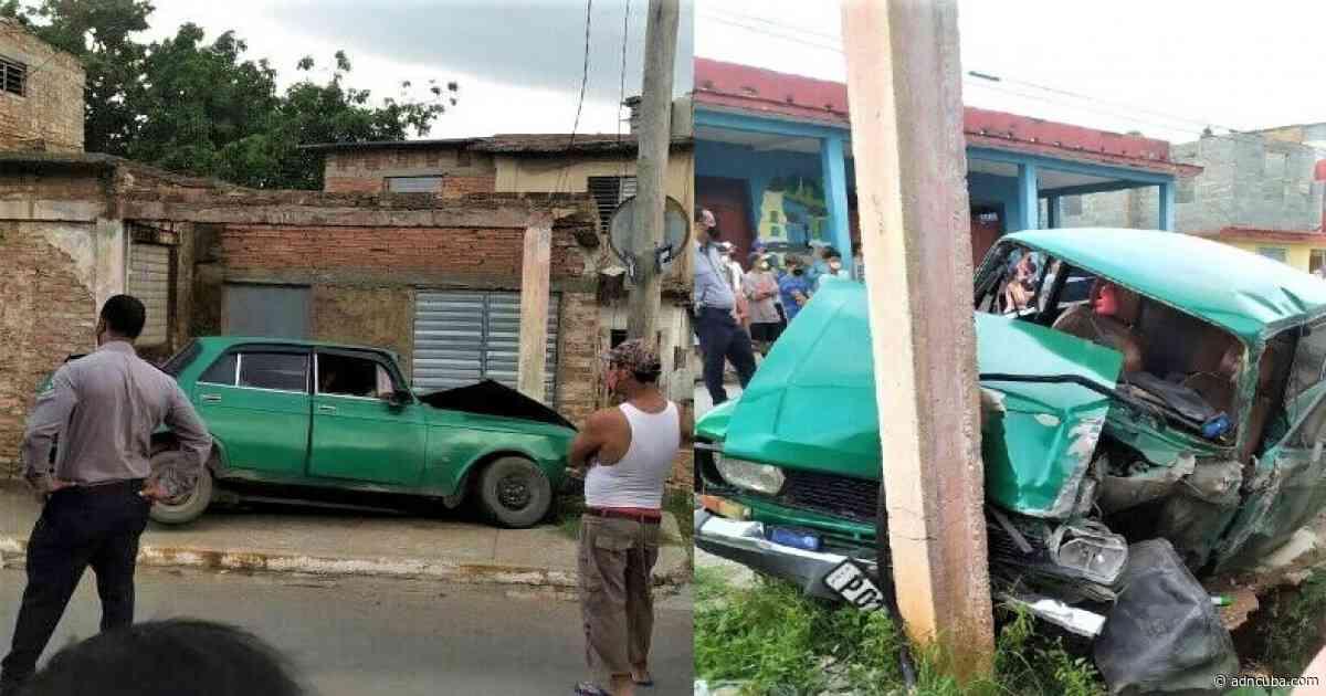Niña herida por choque de auto en Trinidad - ADN Cuba