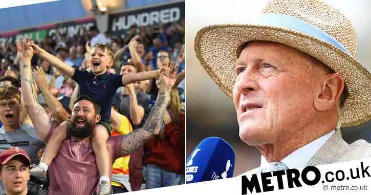 England legend Geoffrey Boycott enjoying cricket's new format, The Hundred