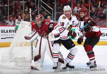 Blackhawks: The Arizona Coyotes might have a goalie for Chicago - Blackhawk Up