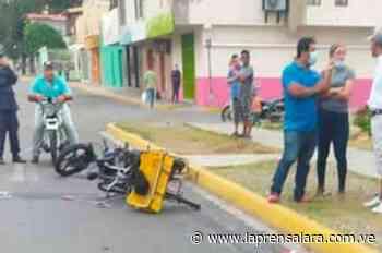 En Carora: dos muertos tras chocar una moto contra una bicicleta - La Prensa de Lara
