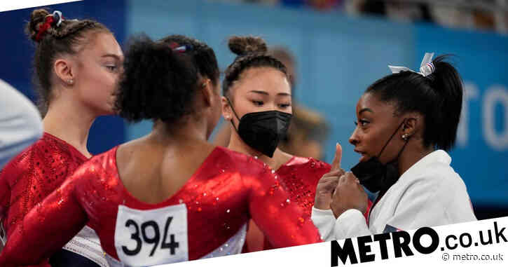 Simone Biles reveals what she told team-mates before gymnastics final withdrawal