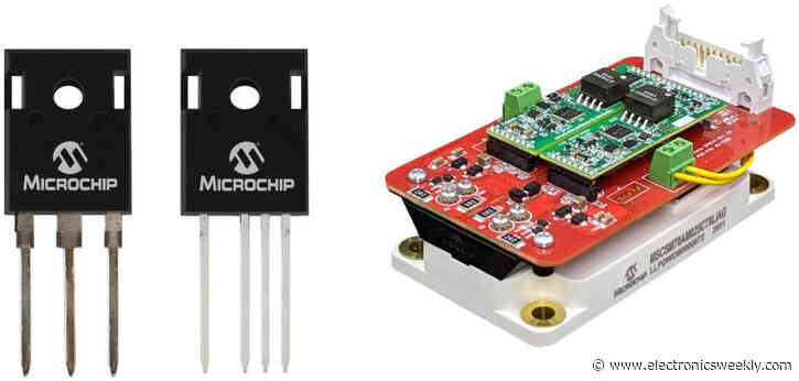 Microchip's 1,700V SiC mosfets