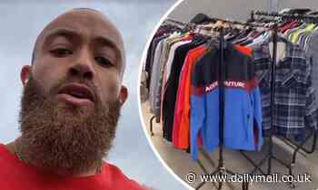 Ashley Cain reveals he's donated his wardrobe and sold his car as he hits back at trolls