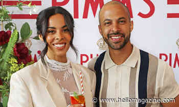 Rochelle Humes' never-before-seen regal wedding photos with husband Marvin