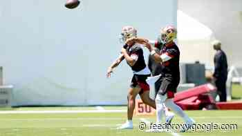 NFL.com names Jimmy Garoppolo vs. Trey Lance as 49ers' top camp battle