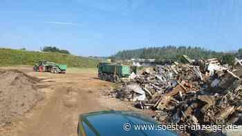 Kreis Soest/Ahrweiler: Bauern und Bauunternehmer helfen: 60 Freiwillige aus dem Kreis Soest mit schwerem Ge... - Soester Anzeiger