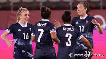 Team GB secure top spot with draw vs. Canada