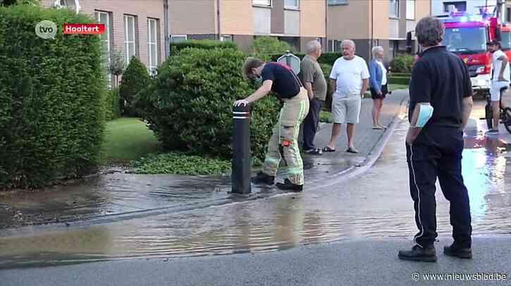Geen leidingwater bij tientallen inwoners door waterlek