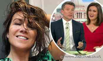 Susanna Reid shares a hilarious snap of her sodden hair after getting caught in the rain