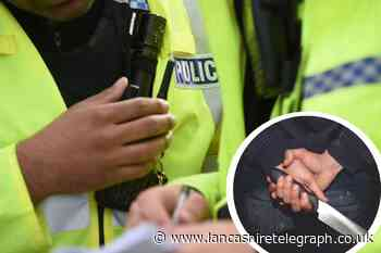 Lancashire Police's stop and search data from the last year