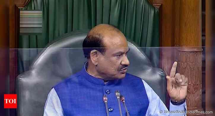 Don't compete in slogan-shouting, says Lok Sabha speaker Om Birla over opposition protests