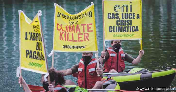 Cambiamenti climatici, la Rete Legalità diffida Eni: abbattere subito le emissioni di gas serra e abbandonare le fossili, pena la denuncia
