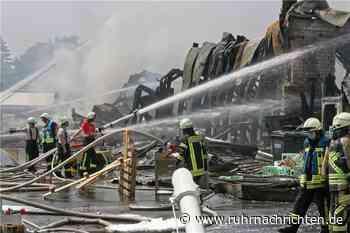 Gastronomen laden Feuerwehr, DRK und THW nach Großbrand zum Konzert ein - Ruhr Nachrichten
