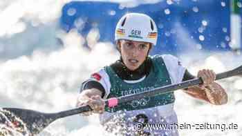 Funk jubelt und denkt an die Flutopfer: Slalomkanutin aus Bad Breisig gewinnt in Tokio die Goldmedaille - Rhein-Zeitung