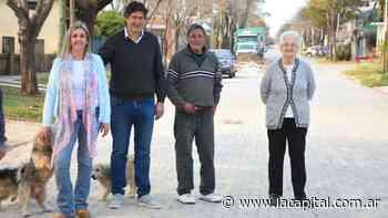 Funes: ponen en marcha obras en barrio San Telmo - La Capital