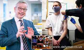 Michael Gove lashes out at 'selfish' vaccine refusers and warns they may be 'barred' from events