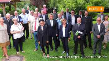 Kreisräte und Bürgermeister aus dem Landkreis verabschiedet