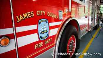 James City County crews respond to fire at business in Toano