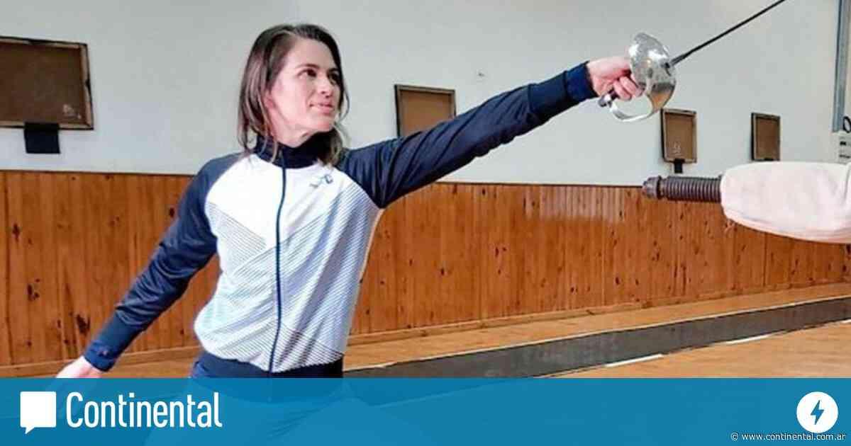 Esgrima: Belén Pérez Maurice, quedó eliminada pero la propusieron casamiento en cámara - Continental Radio AM 590