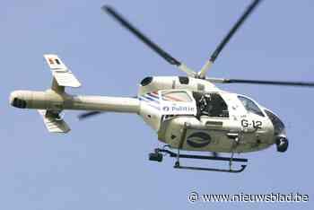 Helikopter en wegpatrouilles urenlang in de weer: voortvluchtige verdachte opgepakt in Erondegem