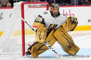Vegas trades Fleury to Chicago as goalie carousel spins