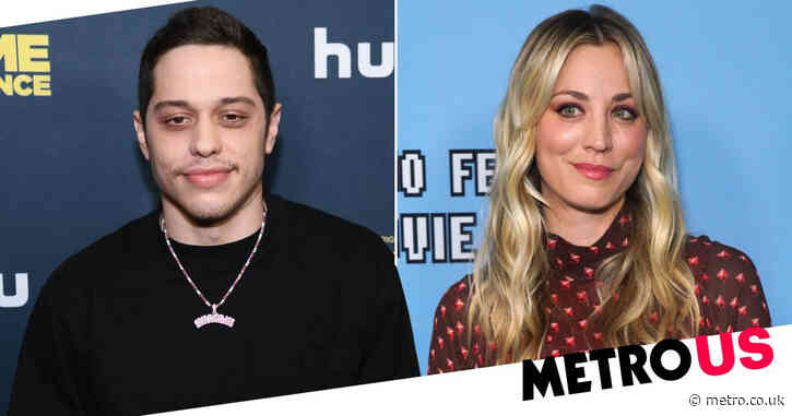 Kaley Cuoco teases upcoming rom-com after 'cute prep day' with Pete Davidson