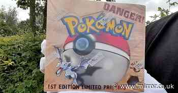 Forgotten Pokemon cards kept under stairs for years fetch £19,000 at auction
