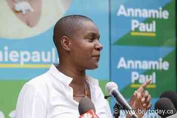 Annamie Paul says Green party convention will go ahead even if election is underway