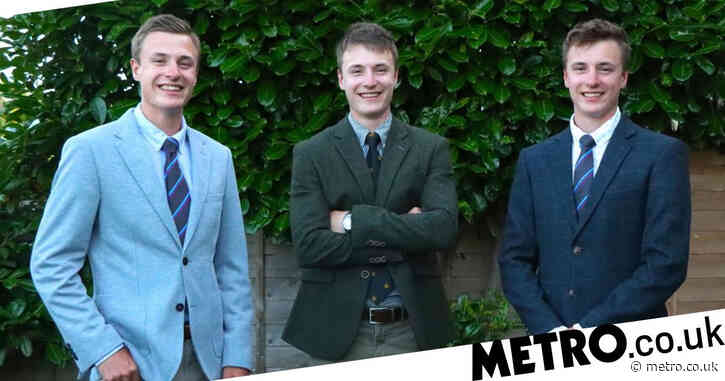 Triplet brothers, 21, all awarded same first class degrees from same university