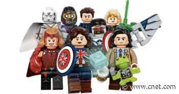 Lego shrinks Marvel Disney Plus faves like Loki, Scarlet Witch into minifigs     - CNET