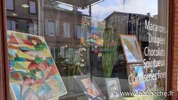 La Malle aux Arts s'expose dans les commerces de Pibrac - LaDepeche.fr