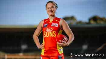 Gold Coast Suns take Charlie Rowbottom with AFLW top draft pick