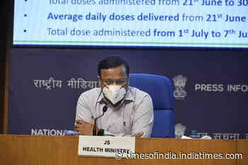 Rate of decline in COVID cases remains area of concern: Health Ministry