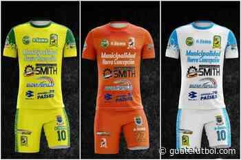 La Nueva Concepción presenta su nuevo uniforme - Guatefutbol.com