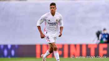 Man United agree deal to sign Madrid's Varane