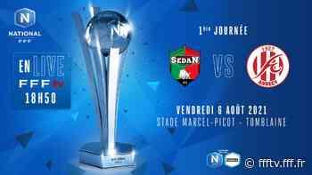 J1 I CS Sedan Ardennes - FC Annecy en direct (18h50) ! - FFF TV