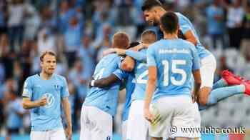 Malmo beat HJK Helsinki to set up tie with Rangers