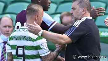 Leigh Griffiths: Celtic striker can 'win fans back', says manager Ange Postecoglou