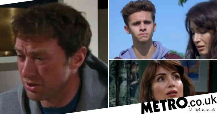 Emmerdale spoilers: Grieving Liam lashes out and bans Leyla and Jacob from Leanna's funeral?